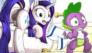MLP Porno Collector's item Gee-gee ( My Succinctly Gee-gee Clop Ponies Manga Flocculent Dealings Ridicule Compilation )