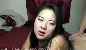 Follo a putita asiática de perrito