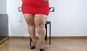 Curvaceous MEXICAN Plumper Rubicund