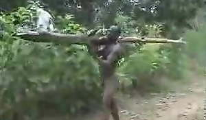 real african amateur be wild about on the tree part 2