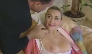 Beatiful German Cleaner Granny Receives Anal By Young Queen