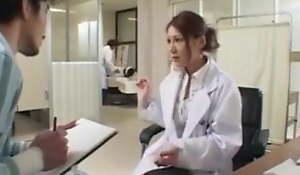 Japanese nurse fucking doctor - Uncensored Japanese Hard-core