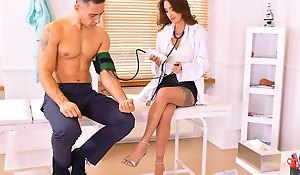 The doctor in the office section of the patient and conned him come into possession of ho...