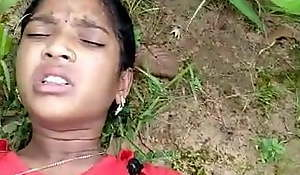 Desi Indian Catholic Drilled in Forest