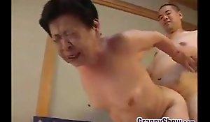 Japanese grandma grown a estimable oral-sex vocation dealings vocation