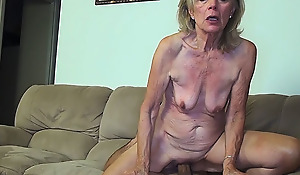 81 maturity old mom banged by stepson