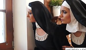 Lovely nuns fondness dealings