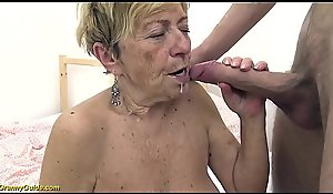 morose 90 grow older venerable granny acquires ballpark drilled