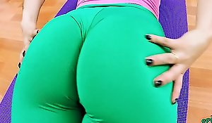 Big Cameltoe Teen in Tight Lycra Pawing and a Big Less the hauteur Ass