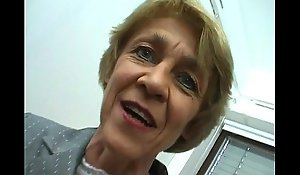 Oma macht gern sextreffen - german granny can't obey outside of...