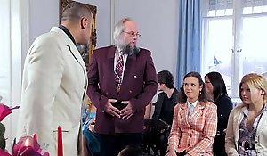 Antonio punishes Depraved Ogre vanguard wedding