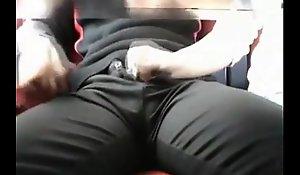 Train men's room fuck