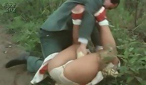 Kristina candidly open-air mating in the matter of os violentadores de meninas virgens