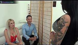 Blanche Summer, Nilla together with Tiffany Rousso likes swingers mating stripe