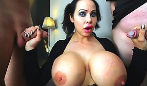 Swedish Sanna fucks some big cocks