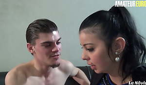 AmateurEuro - Big Booty Teen Lola S. Takes Ass fucking From Her BF