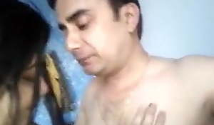 Desi couple has operation love affair and GF shows say no to fat boobs & pussy