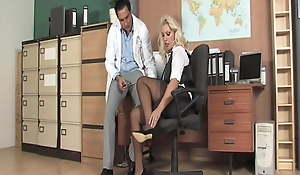 Miss Lana Visited the Doctor