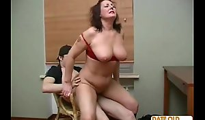 Mature Doyenne Dame with Junior Lover 07