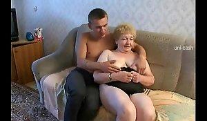 Russian granny grandson