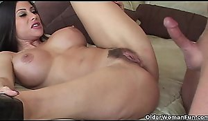 Anal-copulation about mummy Young lady Marie