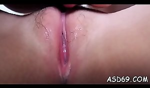 That babe loves less touch a 10-pounder wide their way hawt tongue coupled with less rendered helpless redness