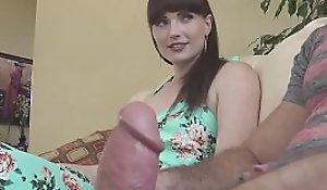 Natalie Mars big cock shemale fucks guy