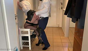 business meeting, home office anal invasion fuck - business-bitch