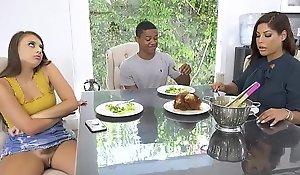 Stepmom Bridgette B Encounters Forth Her Stepdaughter's New Boyfriend