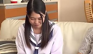 Petite Japanese Legal age teenager Abuses and Bonks Step Dad