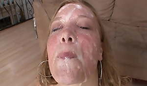 Non-Stop Facial Compilation With Huge Loads 2