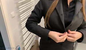 collaborator undress chit work titillating shower, business-bitch