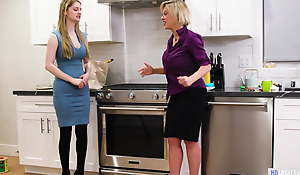 Nanny Helps A MILF In Trouble