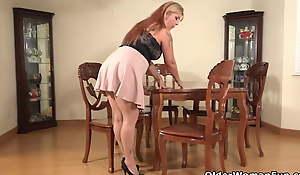 An older woman means beguilement part 397
