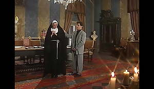 French nun gets fucked in someone's skin ass, upscaled about 4K