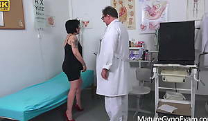 Old pussy exam be useful to wet grandma Charlie