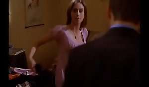 Jennifer Love Hewitt sexy breakage downblouse, Bunch be incumbent on Five S04E08 (no sound)