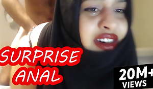PAINFUL SURPRISE ANAL WITH MARRIED WOMAN WEARING A HIJAB!