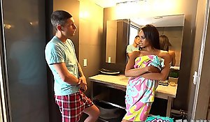 Cheating Mom Relative to Caught With Step Nipper (Part 1) - Gia Vendetti -