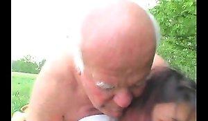 Aged Beggar Bonks Granddaughter Unserviceable