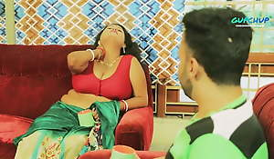 Indian stepmom with fat boobs has sex with son
