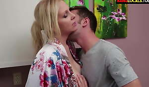horny mom drilled hard by young boy