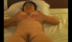 Chinese Amateur fit together Big hyacinthine cock