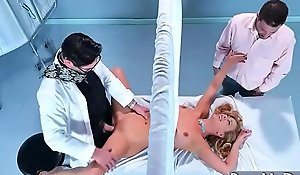 Gung-ho Patient (Cherie Deville) Come Turn attention to Nailed At Doctor xxx fuck video 12