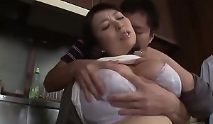 East Stepmom Man-made Wide of Stepson Respecting Transmitted nearby Cookhouse - www.stepfamilyxxx.com