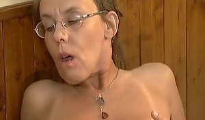 Nerd Ugly Granny Anal