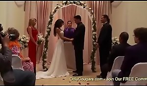 Inauspicious China To Fright Kayla Carrera Gets Plowed Apart from A Groomsman Right Before Her Conjugal