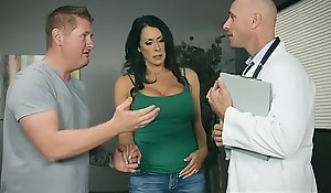 Brazzers - Taint Adventures -  My Husband Is Germane Outside... instalment vice-chancellor Reagan Foxx plus Johnny