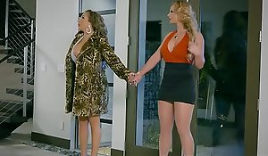 Brazzers.com - sexy and acquisitive - jail-bait on the top of slut instalment cash reserves phoenix marie and richelle ryan