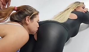 SEXY LATINAS FART STINKY LESBIANS 11